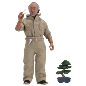 The Karate Kid: Mr. Miyagi (Clothed) – NECA