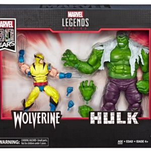 Marvel Legends Series 80th Anniversary Hulk and Wolverine