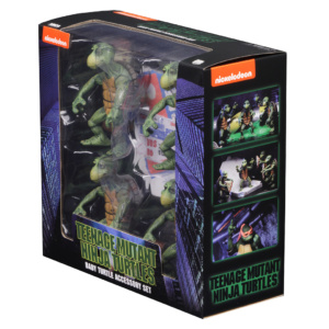 Teenage Mutant Ninja Turtles: Baby Turtles Set (1990 Movie) – 1/4 Scale – NECA