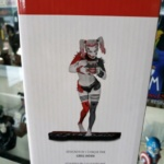 Harley Quinn Red White and Black Statue By Greg Horn