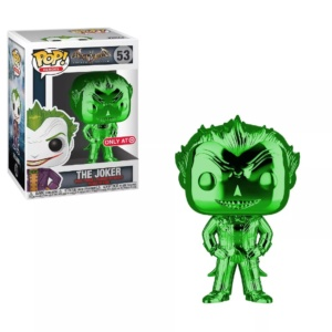 Funko POP! Heroes: DC Comics Batman Arkham Asylum – The Joker (Green Chrome) (NYCC Debut)