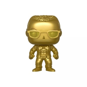 Funko POP! WWE: SmackDown Live 20th Anniversary – The Rock (Gold Metallic) (NYCC Debut)
