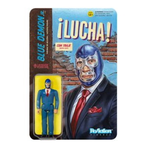 Legends of Lucha Libre ReAction Figure – Blue Demon Jr. in Suit