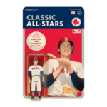 MLB CLASSIC REACTION FIGURE – CARLTON FISK (BOSTON RED SOX)