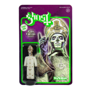 Ghost ReAction Figure – Papa Emeritus III (Glow in the Dark)