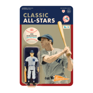 MLB CLASSIC REACTION FIGURE – JOE DIMAGGIO (NEW YORK YANKEES)