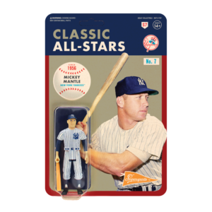 MLB CLASSIC REACTION FIGURE – MICKEY MANTLE (NEW YORK YANKEES)