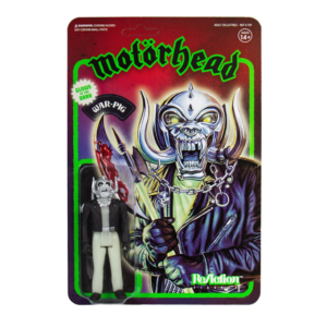 Motorhead ReAction Figure – Warpig (Glow in the Dark)