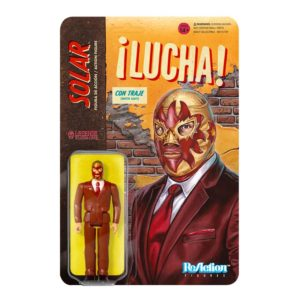 Legends of Lucha Libre ReAction Figure – Solar in Suit