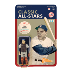 MLB CLASSIC REACTION FIGURE – YOGI BERRA-CATCHER (NEW YORK YANKEES)