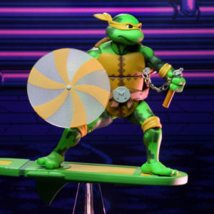 NECA Teenage Mutant Ninja Turtles TMNT: Turtles in Time Series 2 Michelangelo
