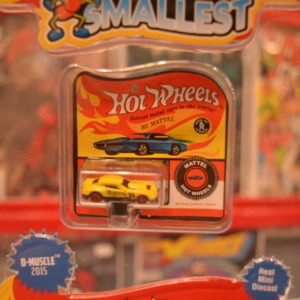 World's Smallest Hot Wheels: D-Muscle 2015