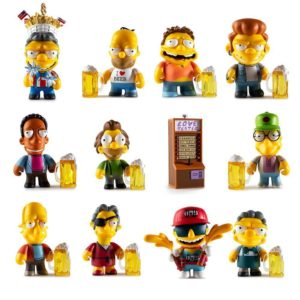 THE SIMPSONS MOE'S TAVERN MINI FIGURE SERIES