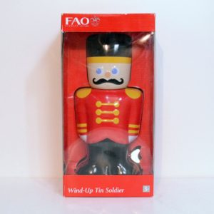 FAO SCHWARZ WIND-UP TIN SOLDIER