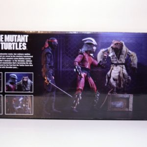 NECA SDCC 2019 EXCLUSIVE TMNT (1990 MOVIE)  7″ SCALE ACTION FIGURE THE CAPTURE OF SPLINTER 4-PACK