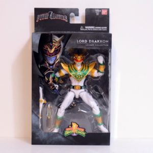 BANDAI MIGHTY MORPHIN POWER RANGERS LEGACY LORD DRAKKON ACTION FIGURE CONVENTION EXCLUSIVE