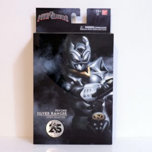 BANDAI POWER RANGERS IN SPACE PSYCHO SILVER RANGER LEGACY COLLECTION 6-INCH ACTION FIGURE ENTERTAINMENT EARTH EXCLUSIVE