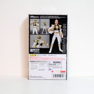 BANDAI MIGHTY MORPHIN POWER RANGERS S.H.FIGUARTS WHITE RANGER