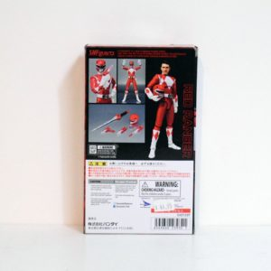 BANDAI MIGHTY MORPHIN POWER RANGERS S.H.FIGUARTS RED RANGER EVENT EXCLUSIVE