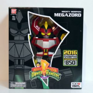 BANDAI NYCC 2016 EXCLUSIVE LIMITED EDITON MIGHTY MORPHIN POWER RANGER MEGAZORD (1 of 850)