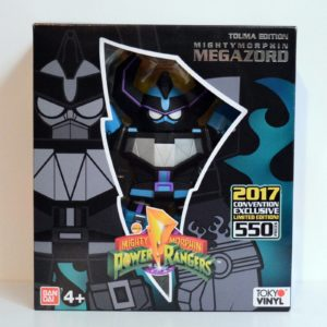 BANDAI NYCC 2017 EXCLUSIVE LIMITED EDITON MIGHTY MORPHIN POWER RANGER TOUMA EDITION MEGAZORD (1 of 550)