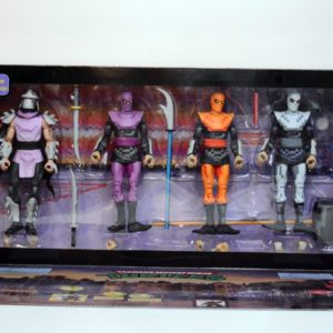 NECA SDCC 2016 EXCLUSIVE TMNT (ARCADE APPEARANCE)  FOOT CLAN BOX SET