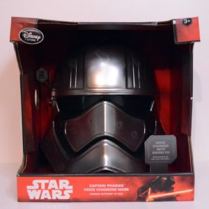 DISNEY STAR WARS CAPTAIN PHASMA VOICE CHANGING MASK