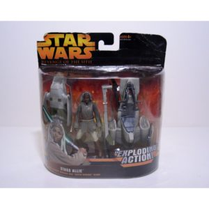 STAR WARS REVENGE OF THE SITH STASS ALLIE ACTION FIGURE
