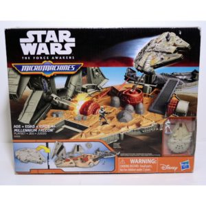 STAR WARS THE FORCE AWAKENS MICRO MACHINES MILENNIUM FALCON PLAYSET