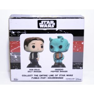 FUNKO POP! HOME HAN SOLO & GREEDO SALT & PEPPER SHAKERS