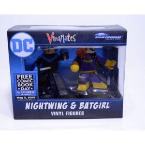 VINIMATES DC NIGHTWING & BATGIRL VINYL FIGURES 2-PACK