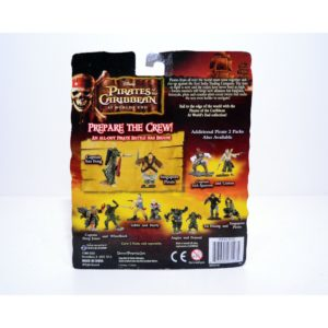 DISNEY PIRATES OF THE CARIBBEAN AT WORLD'S END CAPTAIN SINGAPORE PIRATE AND CAPTAIN SAO FENG MINI FIGURES