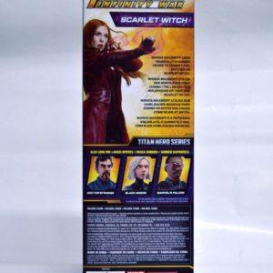 MARVEL INFINITY WAR TITAN HERO SERIES SCARLET WITCH W/ TITAN HERO POWER FX PORT