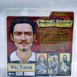 DISNEY PIRATES OF THE CARIBBEAN SERIES 1 WILL TURNER