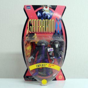 MARVEL COMICS GENERATION X EMPLATE
