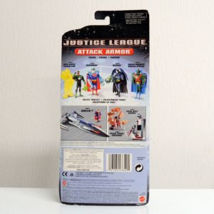 DC JUSTICE LEAGUE ATTACK ARMOR BATMAN