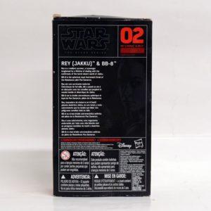 STAR WARS THE BLACK SERIES REY (JAKKU) & BB-8