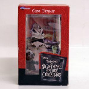 TIM BURTON'S THE NIGHTMARE BEFORE CHRISTMAS GLASS TUMBLER