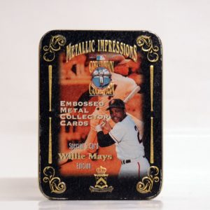 METALLIC IMPRESSIONS COOPERSTOWN COLLECTION WILLIE MAYS