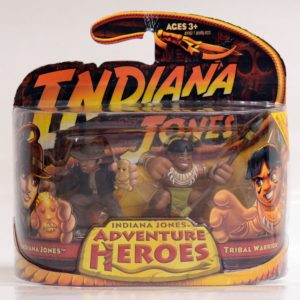INDIANA JONES ADVENTURE HEROES INDIANA JONES & TRIBAL WARRIOR