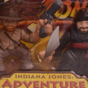 INDIANA JONES ADVENTURE HEROES INDIANA JONES & CAIRO SWORDSMAN