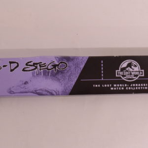 THE LOST WORLD JURASSIC PARK WATCH COLLECTION 3-D-STEGO