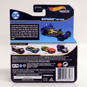 HOTWHEELS CHARACTER CARS DC BATMAN HOT ROD