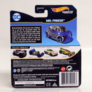HOTWHEELS CHARACTER CARS DC MR. FREEZE