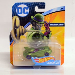HOTWHEELS CHARACTER CARS DC THE RIDDLER