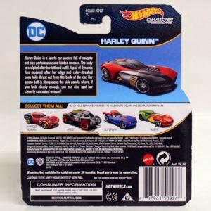 HOTWHEELS CHARACTER CARS DC HARLEY QUINN