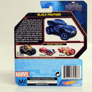 HOTWHEELS CHARACTER CARS MARVEL BLACK PANTHER BLACK PANTHER