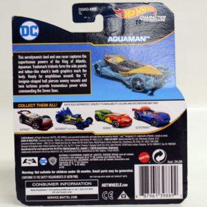 HOTWHEELS CHARACTER CARS DC AQUAMAN