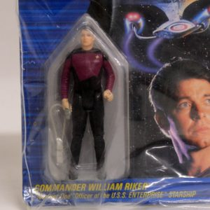GALOOB STAR TREK THE NEXT GENERATION COMMANDER WILLIAM RIKER