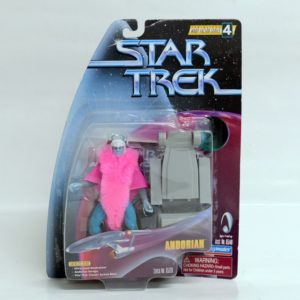 STAR TREK SERIALIZED WARP FACTOR SERIES 4 ANDORIAN